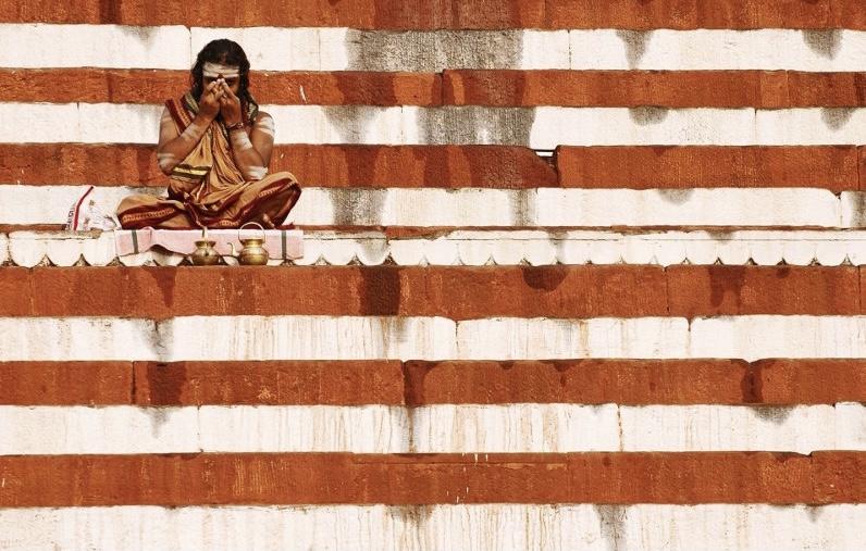 <The United States of India> <Marcin Ryczek> <India> <Orange> <Photograph> <Stripes>