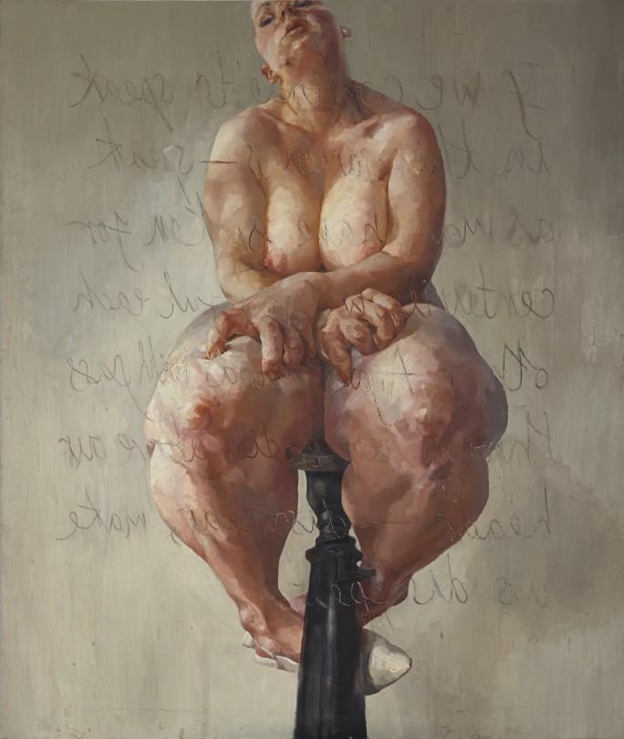 Jenny Saville | Propped | 1992