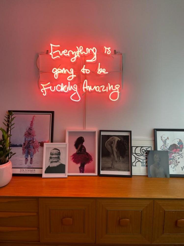 DARKLIGHT ART - a renters guide to hanging art