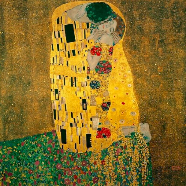 The Kiss - Gustav Kilmt