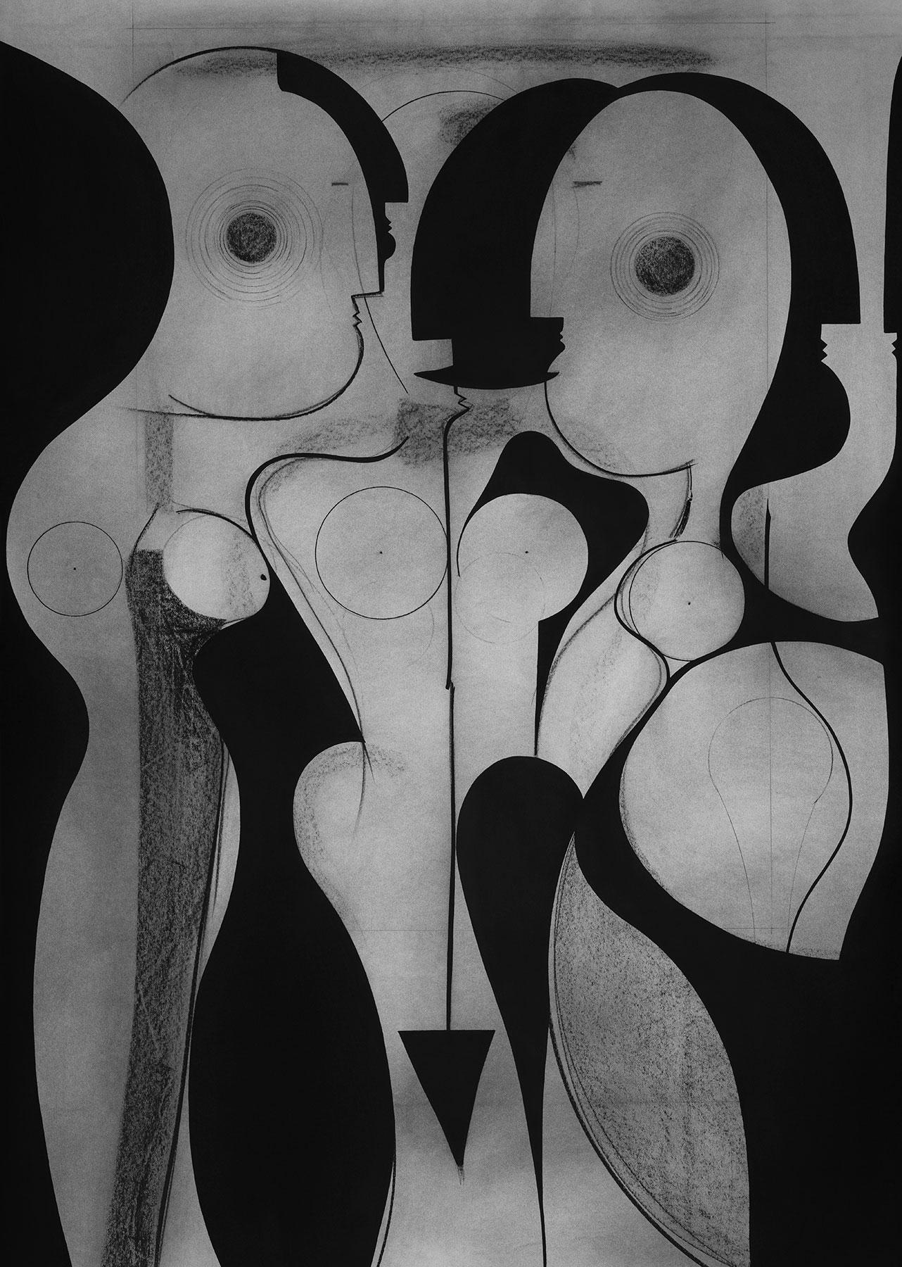 CHARCOAL DRAWING   MARCUS SCHAFER   DARKLIGHT ART